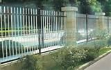 Photos of Steel Fence Material